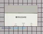 Dispenser Front Panel - Part # 775429 Mfg Part # 218416186