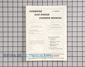Manuals, Care Guides & Literature - Part # 401069 Mfg Part # 12026