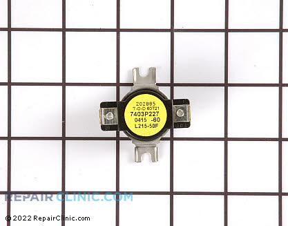 High Limit Thermostat 7403P227-60     Main Product View
