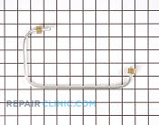 Gas Tube or Connector - Part # 1051908 Mfg Part # 00487244