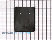 Seal black - Part # 260819 Mfg Part # WB4X5123