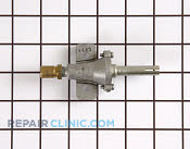 Gas Burner & Control Valve - Part # 707284 Mfg Part # 7502P109-60