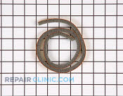 Dishwasher Door Gasket - Part # 399861 Mfg Part # 00119748