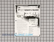 Manuals, Care Guides & Literature - Part # 785439 Mfg Part # 21001718