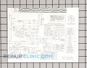 Wiring diagram - Part # 936478 Mfg Part # 131825700
