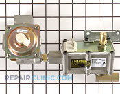 Oven Valve and Pressure Regulator - Part # 1556010 Mfg Part # WB19K10041