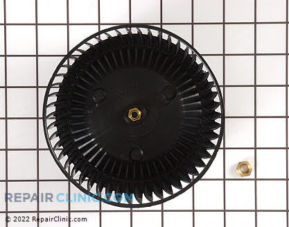 Blower Wheel & Fan Blade W10323301 Main Product View