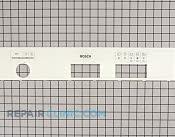 Control  Panel - Part # 1103949 Mfg Part # 00290484
