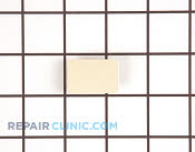 Plug button handle almond - Part # 291354 Mfg Part # WR12X10125