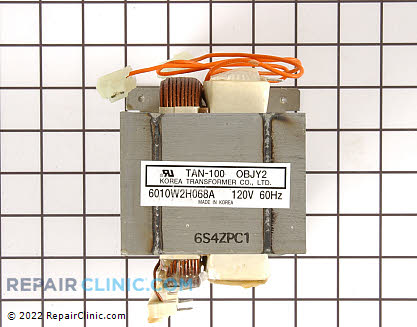 High Voltage Transformer 16QBP0295 Main Product View