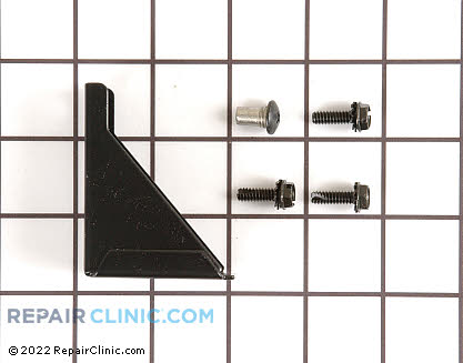 Bottom Hinge 11695-S-BLK Main Product View