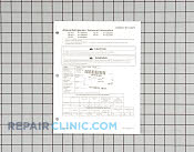 Repair Manual - Part # 220023 Mfg Part # RT1100019