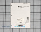 Manuals, Care Guides & Literature - Part # 113863 Mfg Part # B8383282