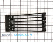 Vent grill assy black - Part # 910646 Mfg Part # WB07X10411
