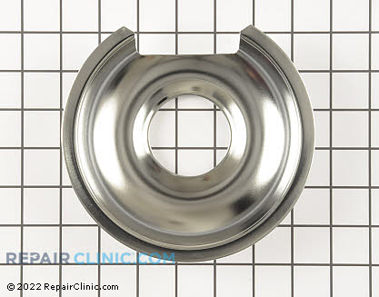 6 Inch Burner Drip Bowl WB32X10012 Main Product View
