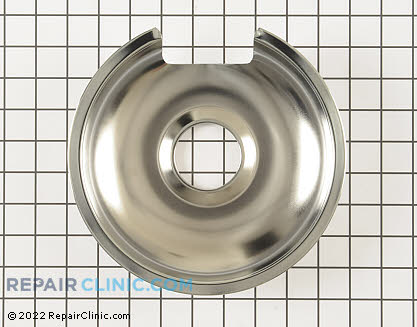 8 Inch Burner Drip Bowl WB32X10013 Main Product View