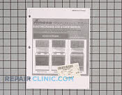 Owners manual - Part # 119876 Mfg Part # C2731420