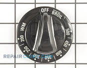 Thermostat Knob - Part # 242715 Mfg Part # WB03X10012