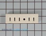 Ceramic Receptacle Block - Part # 245922 Mfg Part # WB17X5097