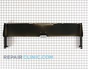 Backsplash panel - Part # 260435 Mfg Part # WB37K5035