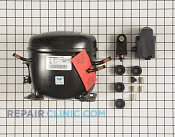 Compressor & Sealed System - Part # 1974772 Mfg Part # WR87X10224
