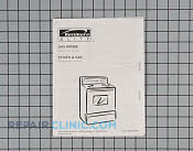 Manuals, Care Guides & Literature - Part # 493756 Mfg Part # 316000954