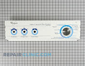 Control  Panel - Part # 547532 Mfg Part # 3950963