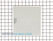 Grease Filter - Part # 1810355 Mfg Part # W10370046