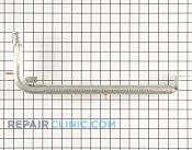 Oven Burner Tube - Part # 616780 Mfg Part # 5303202752