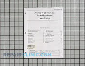 Manuals, Care Guides & Literature - Part # 654063 Mfg Part # 57001156