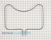Bake Element - Part # 1810287 Mfg Part # W10310258