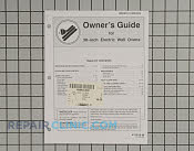 Owner's Manual - Part # 703068 Mfg Part # 74002933