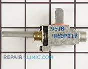 Gas Burner & Control Valve - Part # 707321 Mfg Part # 7502P217-60
