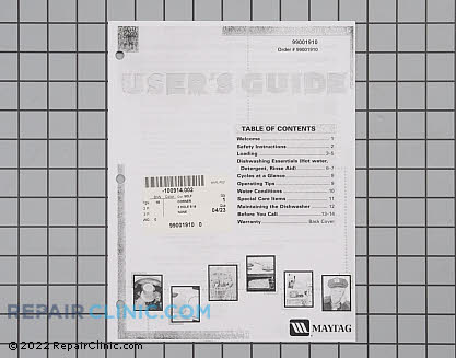 Manuals, Care Guides & Literature 99001910 Main Product View