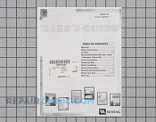 Manuals, Care Guides & Literature - Part # 752176 Mfg Part # 99001910