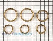 Surface Burner Ring - Part # 756364 Mfg Part # 82968