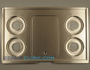 Metal Cooktop - Part # 777703 Mfg Part # 5304409683