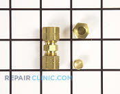 Brass Compression Coupler - Part # 820757 Mfg Part # 4002