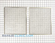 Grease Filter - Part # 874029 Mfg Part # WB02X10709