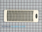 Vent grill (bisque) - Part # 874605 Mfg Part # WB07X10347