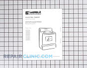 Manuals, Care Guides & Literature - Part # 918037 Mfg Part # 316257915
