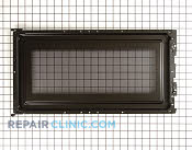 Microwave Oven Door - Part # 943102 Mfg Part # WB55X10531