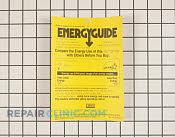 Manuals, Care Guides & Literature - Part # 948991 Mfg Part # 240465001