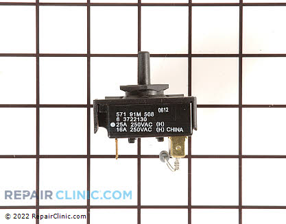 Heat Selector Switch 33002725        Main Product View