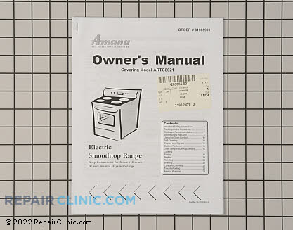 Manuals, Care Guides & Literature 31985901 Main Product View