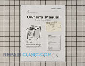 Manuals, Care Guides & Literature - Part # 1002559 Mfg Part # 31985901