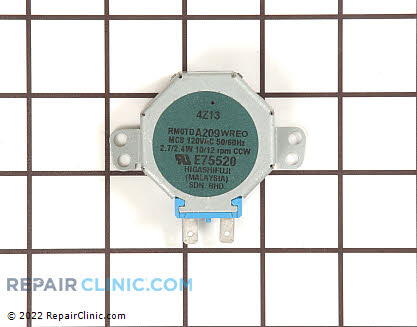 Stirrer Motor RMOTDA209WRE0 Main Product View