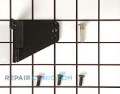 Bottom Hinge - Part # 1053517 Mfg Part # 11996-S-BLK