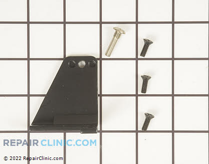 Top Hinge 11995-S-BLK Main Product View