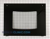 Oven Door Glass - Part # 1055783 Mfg Part # 318261355